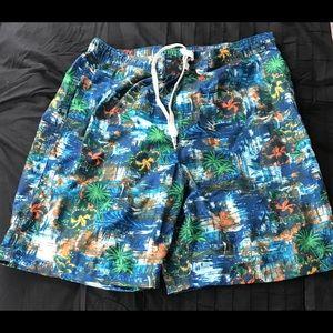 Mens RQQBA Swim Trunks / Board Shorts